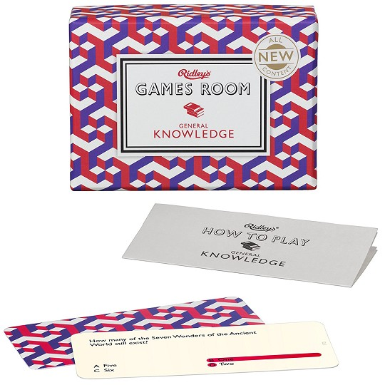 GAMES ROOM: GENERAL KNOWLEDGE  | 5055923702314 | RIDLEY'S GAMES