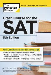 SAT CRASH COURSE SAT 5 ED | 9781101920497 | PRINCETON REVIEW