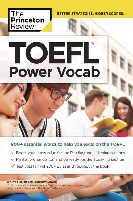 TOEFL POWER VOCAB | 9781524710705 | PRINCETON REVIEW