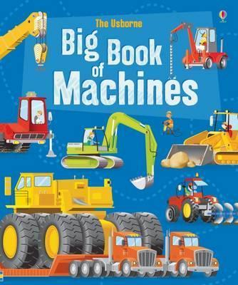 BIG BOOK OF MACHINES | 9781474928946 | MINNA LACEY