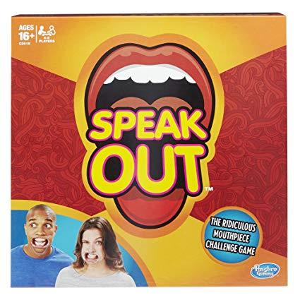 SPEAK OUT BOARD GAME | B01HH0NTDA