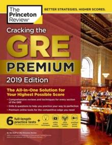 GRE CRACKING GRE PREMIUM 2019 | 9781524757908 | PRINCETON REVIEW