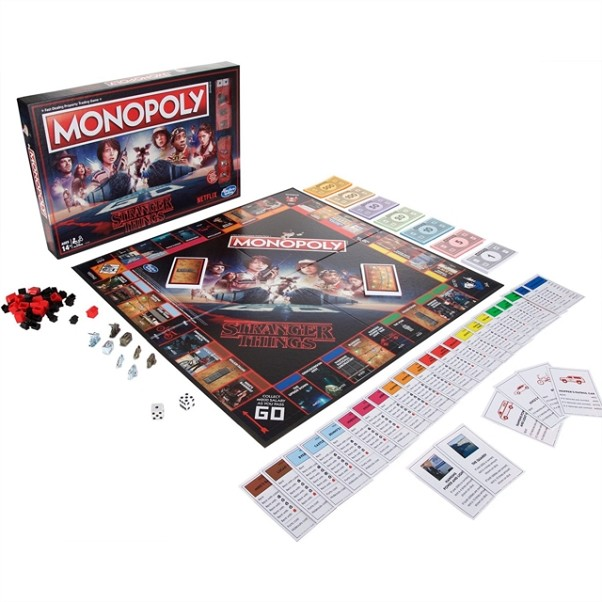 MONOPOLY STRANGER THINGS | 5010993501342