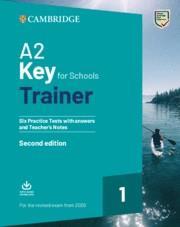 KET FOR SCHOOLS TRAINER 1 SB+KEY (2020 EXAM) | 9781108525800 | VVAA