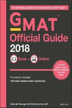 GMAT OFFICIAL GUIDE 2018 BOOK+ONLINE | 9781119387473