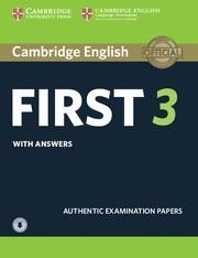 FC CAMBRIDGE FCE PRACTICE TESTS 3 SB+KEY+AUDIO | 9781108380782 | CAMBRIDGE ENGLISH