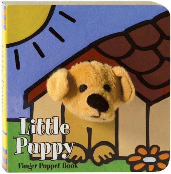 LITTLE PUPPY: FINGER PUPPET BOOK | 9780811857710 | CHRONICLE BOOKS