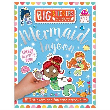 BIG STICKERS FOR LITTLE HANDS: MERMAID LAGOON | 9781788430678