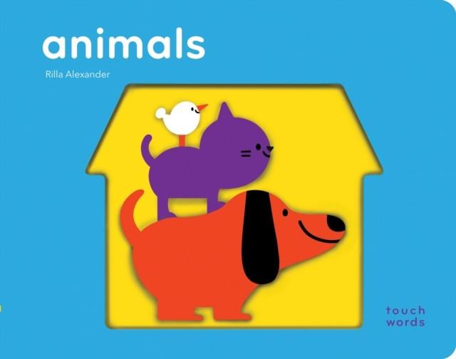 TOUCHWORDS: ANIMALS | 9781452173924 | CHRONICLE BOOKS