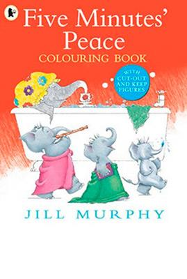 FIVE MINUTES' PEACE COLOURING BOOK | 9781406370782 | JILL MURPHY