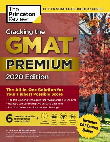 GMAT CRACKING THE, PREMIUM EDITION WITH 6 COMPUTER- | 9780525568025 | PRINCETON REVIEW