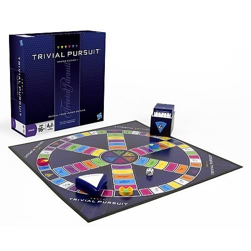 TRIVIAL PURSUIT MASTER EDITION | 5010994492465 | HASBRO