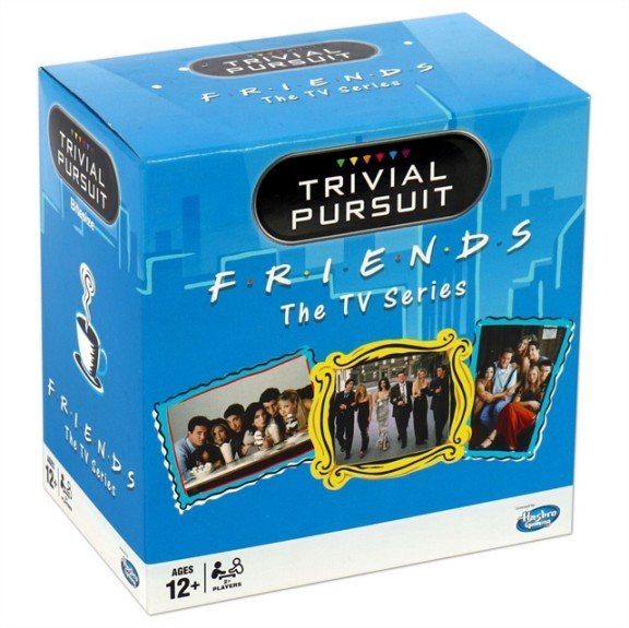 FRIENDS TRIVIAL PURSUIT BITE SIZE BOARD GAME | 5036905027342 | HASBRO