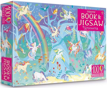 UNICORNS BOOK AND JIGSAW | 9781474952699 | SAM SMITH