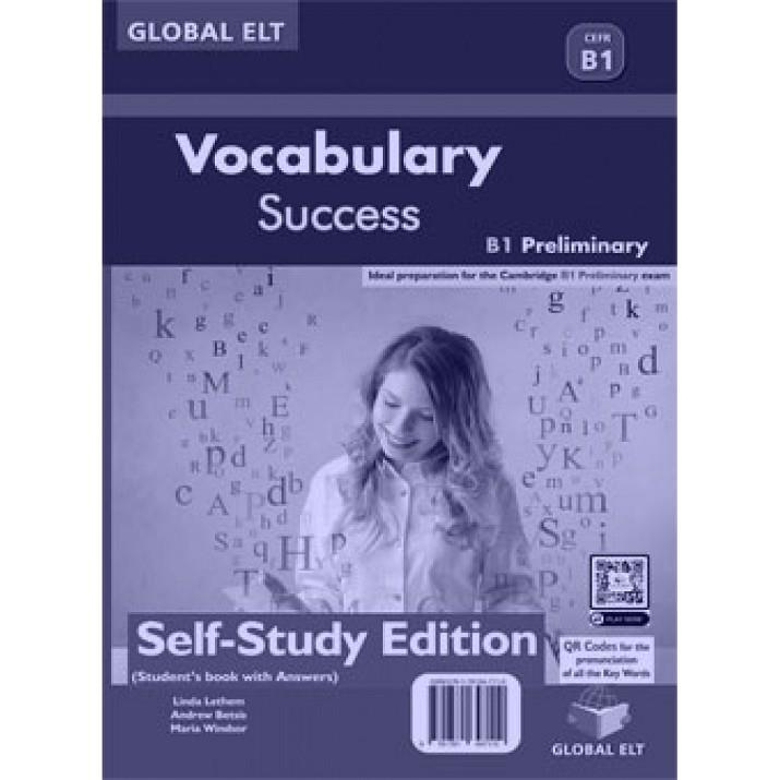VOCABULARY SUCCESS - LEVEL B1 - SSE | 9781781647110 | VVAA