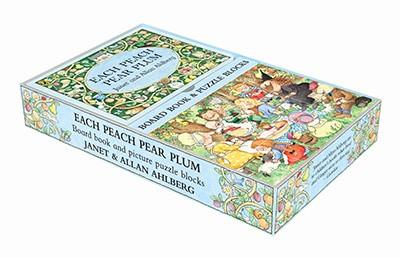 EACH PEACH PEAR PLUM BOOK AND BLOCK SET | 9780723271253 | ALLAN AHLBERG