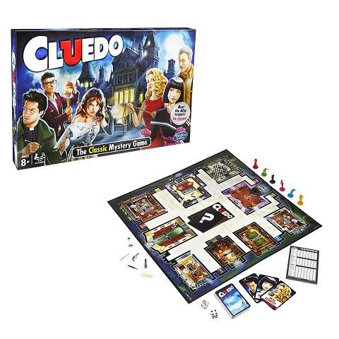 CLUEDO: THE CLASSIC MYSTERY GAME | 5010993313570 | HASBRO
