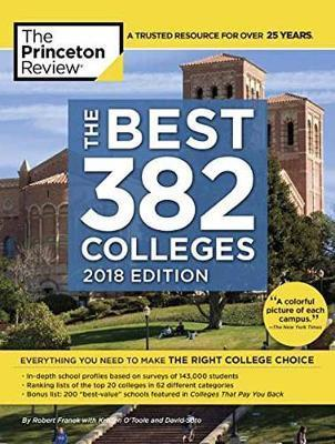 BEST 381 COLLEGES 2018 | 9781524710224 | PRINCETON REVIEW