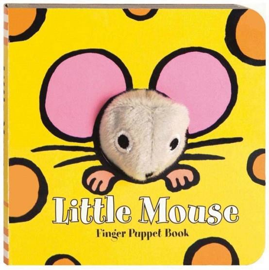 LITTLE MOUSE: FINGER PUPPET BOOK | 9780811861106 | CHRONICLE BOOKS