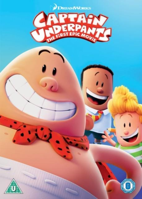 CAPTAIN UNDERPANTS: THE FIRST EPIC MOVIE DVD | 5053083155452 | DAV PILKEY