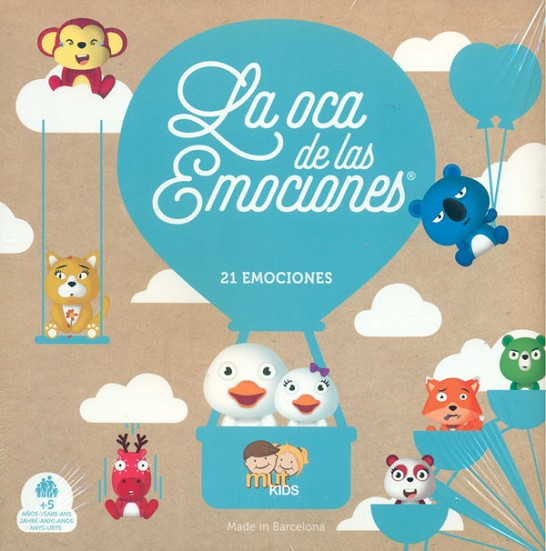 THE EMOTIONS GOOSE GAME / LA OCA DE LAS EMOCIONES | 8425402080672 | MUT KIDS