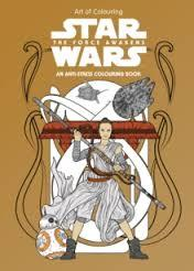 STAR WARS ART OF COLOURING THE FORCE AWAKENS | 9781405285797 | STAR WARS