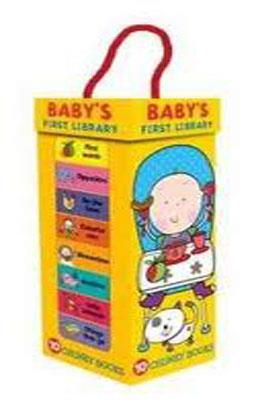 BABY'S FIRST LIBRARY BOOK TOWER | 9781848795877 | LARA EDE