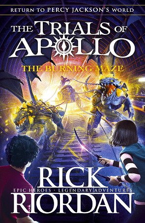 THE BURNING MAZE (THE TRIALS OF APOLLO BOOK 3) | 9780141364001 | RICK RIORDAN