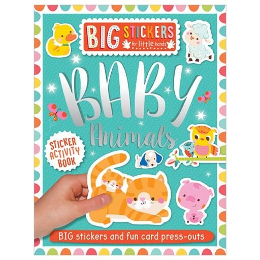 BIG STICKERS FOR LITTLE HANDS: BABY ANIMALS | 9781788430692