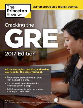 GRE CRACKING GRE 2017 | 9781101919712 | PRINCETON REVIEW