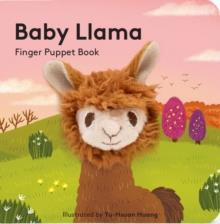 BABY LLAMA: FINGER PUPPET BOOK | 9781452170817 | CHRONICLE BOOKS