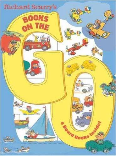 RICHARD SCARRY'S BOOKS ON THE GO | 9780375875229 | RICHARD SCARRY