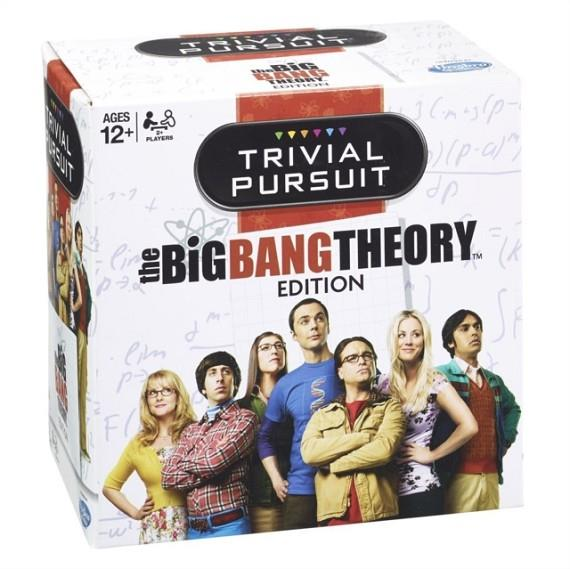 BIG BANG THEORY TRIVIAL PURSUIT BITE SIZE BOARD GAME | 5036905022934