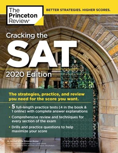 SAT CRACKING THE, WITH 5 PRACTICE TESTS 2020 EDITIO | 9780525568087 | PRINCETON REVIEW