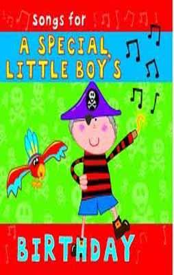 SONGS FOR A SPECIAL LITTLE BOY'S BIRTHDAY CD | 9781847335005