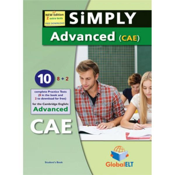 CAE SIMPLY ADVANCED, – 10 PRACTICE TESTS SB | 9781781644133