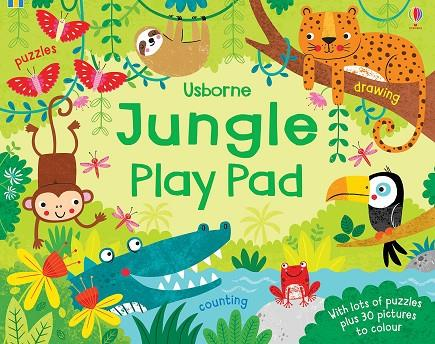 JUNGLE PLAY PAD | 9781474952095 | KIRSTEEN ROBSON