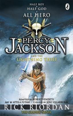 PERCY JACKSON 01 AND THE LIGHTNING THIEF GRAPHIC NOVEL | 9780141335391 | RICK RIORDAN