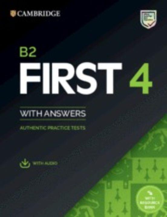 FC CAMBRIDGE FCE PRACTICE TEST 4 STUDENT'S BOOK WITH ANSWERS WITH AUDIO WITH RESOURCE BANK | 9781108780148