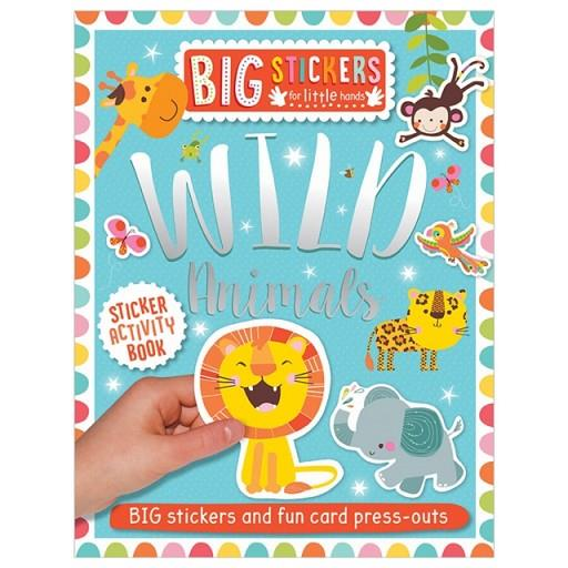 BIG STICKERS FOR LITTLE HANDS: WILD ANIMALS | 9781788430647