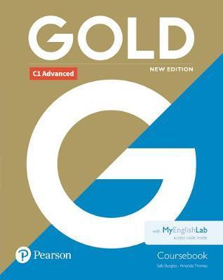CAE GOLD ADVANCED NEW EDITION COURSEBOOK AND MYENGLISHLAB PACK | 9781292217734