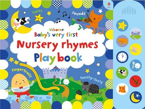BABY'S VERY FIRST NURSERY RHYMES PLAYBOOK | 9781474953566 | FIONA WATT