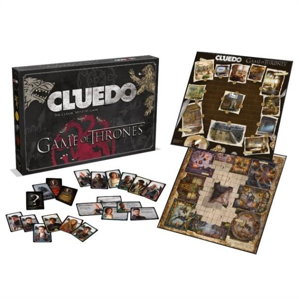GAME OF THRONES CLUEDO BOARD GAME | 5036905027410 | HASBRO
