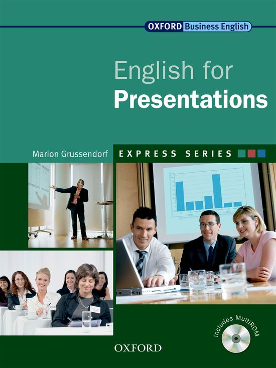 ENGLISH FOR PRESENTATIONS (EXPRESS SERIES) | 9780194579360 | MARION GRUSSENDORF