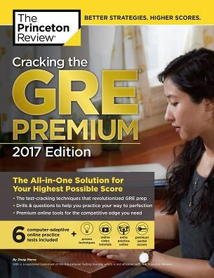 GRE CRACKING GRE PREMIUM 2017 | 9781101919699 | PRINCETON REVIEW