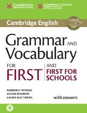 FC GRAMMAR AND VOCABULARY 2015 SB+KEY WITH AUDIO | 9781107481060 | THOMAS, HASHEMI, MATTHEWS