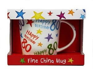 HAPPY BIRTHDAY RAINBOW MUG (+ PAPER BOX) | 9785010792336