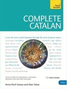 TEACH YOURSELF COMPLETE CATALAN BOOK AND AUDIO ONLINE | 9781444105650 | ANNA POCH/ALAN YATES