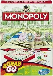 MONOPOLY GRAB AND GO | 5010994863784