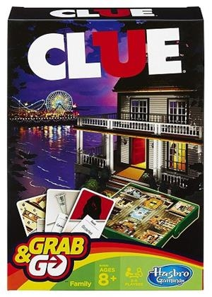 CLUEDO GRAB AND GO | 5010994861940 | HASBRO